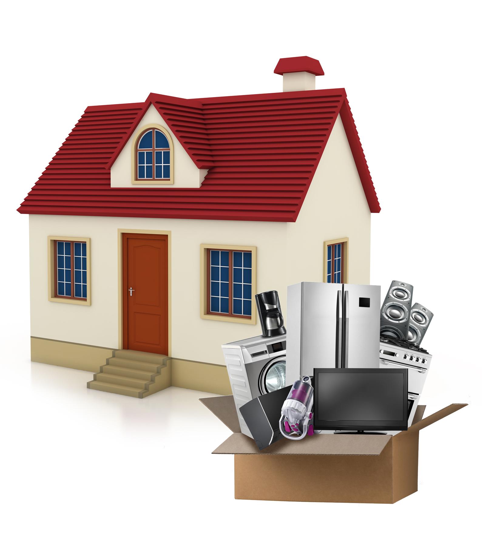 Home Model 3D Rendering Image